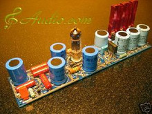 Tube Rectified Preamp Common Power Supply finish PCB