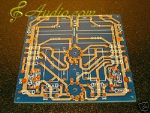 Tube Phono Amp PCB -upgrade design of Matisse Reference