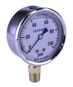 "GG Liquid Gauge 2-1/2"" Face"