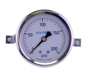 "WGGC Liquid Gauge 2-1/2"" Face"