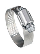 "Hose Clamp ALL SS 1/2"" Band"
