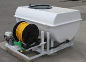 200 Gallon Jet Agitation Electric Reel Honda Engine D-252
