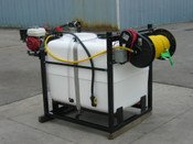 250 Gallon - Jet Agitation - Painted Steel Frame - Pickup Mount - Electric Reel - D30 Pump