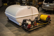 725 Gallon - Jet Agitation - Painted Steel Frame - Truck Mount - Electric Reel - D70 Pump