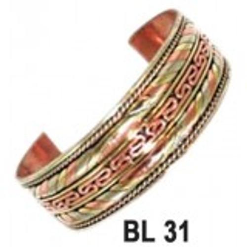 Copper & Brass Bangle
