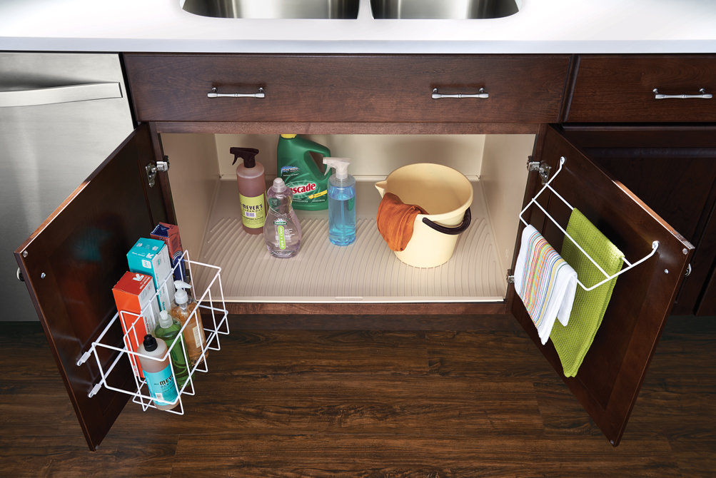 Kitchen storage for Kraftmaid coreguard