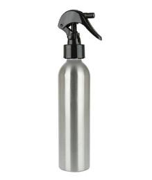 250 ml (8 oz) Aluminum Slimline Bottle with Black Trigger Sprayer