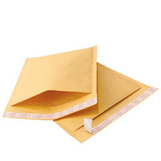 6.5 x 10 Economic Grade Kraft Bubble Padded Envelopes Mailers, pack of 250