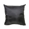 Decorative Sequin Throw Pillow 17x17 Inch, Comfortable Fill For Living Room, Couch, Bedroom, Fun Mermaid Reversible Style BLACK / GOLD