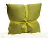 """Kashi Home Decorative Faux Silk Holly Collection 18""""x18"""" Throw Pillow, 1 Pack, 2 Pack"""