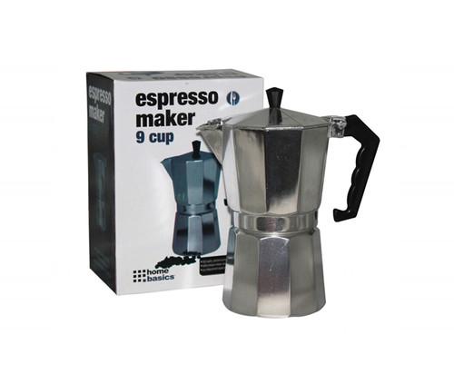 9 Cup Aluminum Espresso Maker