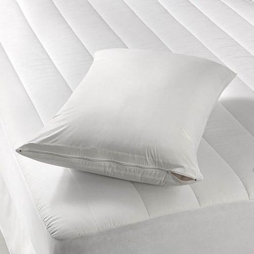 Zippered Vinyl Pillow Cover