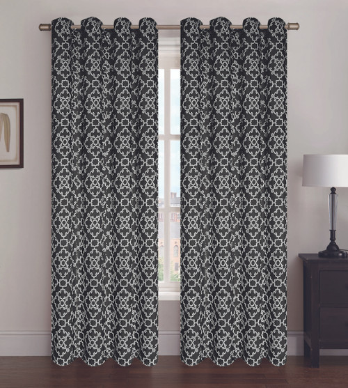 Alex Window Panel - Black