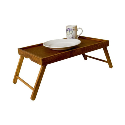 Pine Bed Tray With Folding Legs, Rustic Collection BT01124
