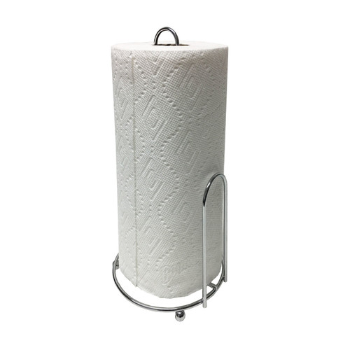 Chrome Wire Paper Towel Holder, Rust Resistant (LS-PH026266)