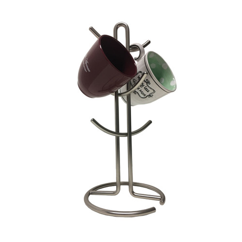 Nickel Plated Mug Holder, Mug Tree (LS-MH025061)