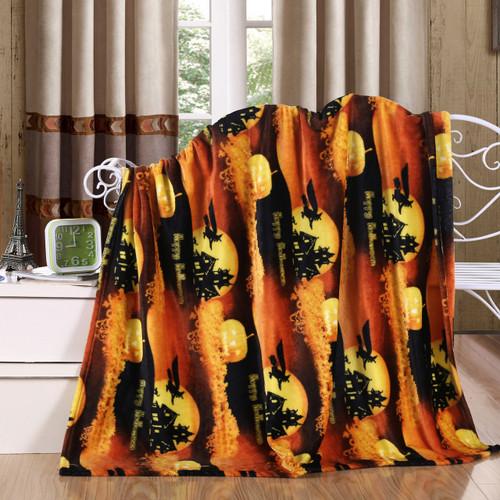 Holiday Halloween Throw Blanket, Soft & Plush, 50x60