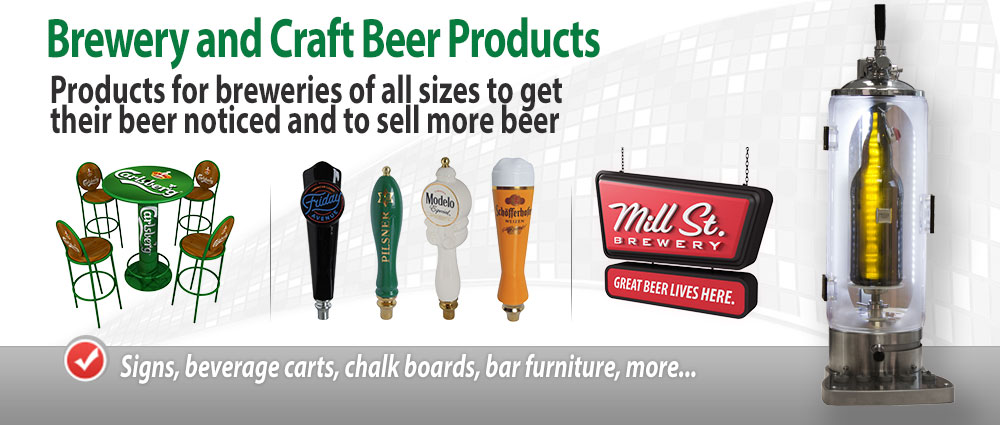 Brewery and Craft Beer Products