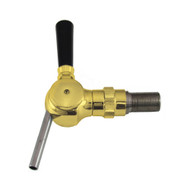 Euro Flow Control, Euro Faucet, Ball type, Brass, Flow Control, with Shank 1/2""