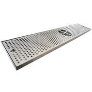 "Countertop Drip Tray, 36"" x 7"", Centre Rinser"