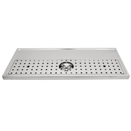 "Platform Drip Tray, 47 1/2''x 19 5/8"", Rinser"