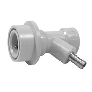 """Beverage System Part, Connector, Ball lock GAS quick disconnect, 1/4"""" barb"""