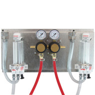 Regulator Panel, Secondary panel with 2 sec. regs and 2 FOBí«í´s