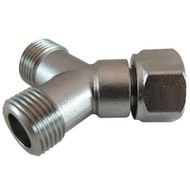 Keg Coupler Accessory, Beer Y - Fitting, SS
