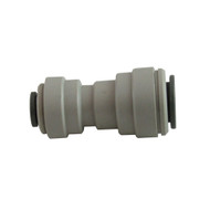 """John Guest Fitting, Gray Acetal Reducing Union 3/8"""" - 1/4"""""""
