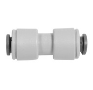 """John Guest Fitting, Gray Acetal Union Connector 5/16"""""""
