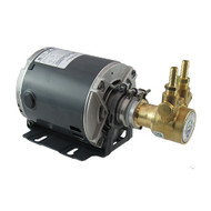 100 GPH Pump and Motor Assembly (complete with fittings and clamp)