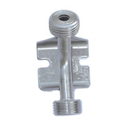 Wall bracket with thread for beer nut