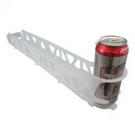 Merchandising Glide Rack VISI SLIDE, 16 oz, 10 rows wide