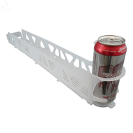 Merchandising Glide Rack VISI SLIDE, 20 oz, 9 rows wide