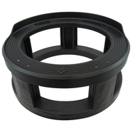 "Keg Spacer, Height 6"", 50L kegs, Black"