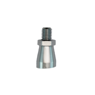 Angled Ferrule Adapter to tilt tap handle, Chrome