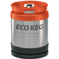 Stainless steel keg SchaeferECO, with D fitting, 50L, stackable, AISI 304
