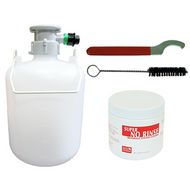 Direct Draw System 1.3 Gal Cleaning Kit, D Valve Plastic Fitting