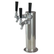 """American Style Tower 3"""" CYLINDER 3, Chrome, AIR"""