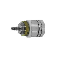 """Shank Assembly With Nipple, 1 3/4"""" with 3/16"""" bore & niple, chrome coupling nut & spacer"""