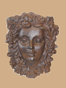 Wine Harvest goddess plaque