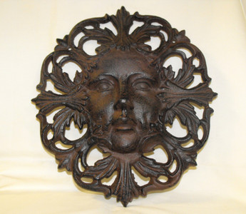 Nature goddess garden plaque
