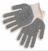 Black PVC Dotted Glove