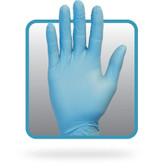 Powder Free Blue Nitrile Gloves