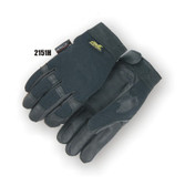 Black Deerskin Palmed Insulated Mechanics Glove