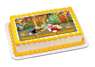 El Chavo 2 Edible Birthday Cake Topper OR Cupcake Topper, Decor