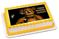 Five Nights at Freddy's 2 Edible Birthday Cake Topper OR Cupcake Topper, Decor