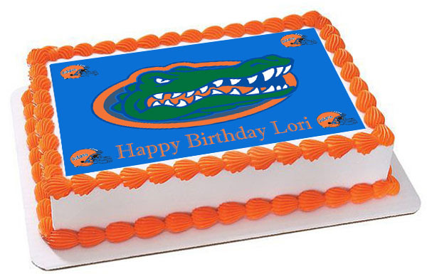 Florida Gators Cake Decorations