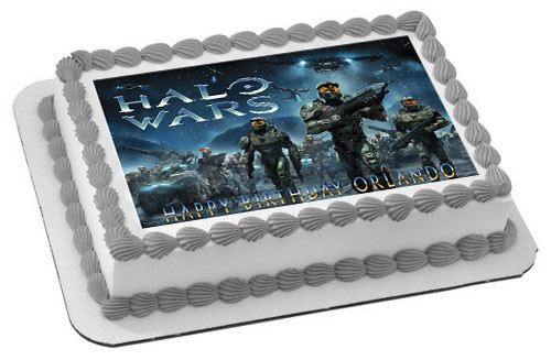 Halo Wars  Edible Cake Topper