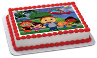 Little Einsten Edible Birthday Cake Topper OR Cupcake Topper, Decor